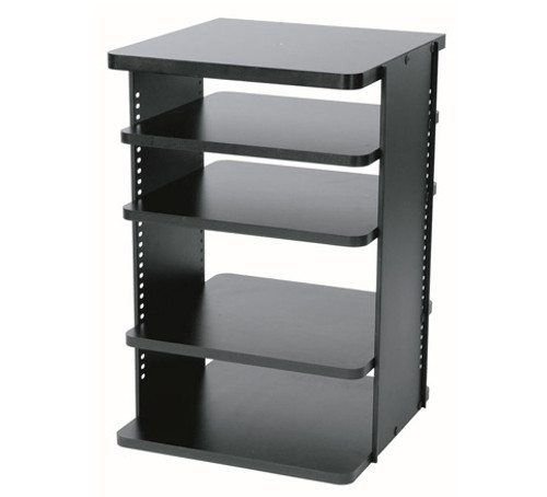"Middle Atlantic ASR Series 18"" Deep Slide-Out and Rotate Shelved Rack"