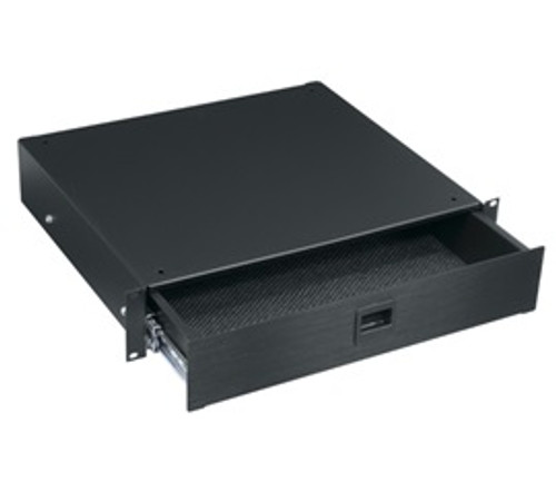 Middle Atlantic D Series RU 2 / 3 / 4 / 5 Space Drawer, Anodized Finish