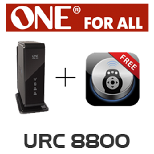 One For All URC8800 Tablet Remote for IOS & Android