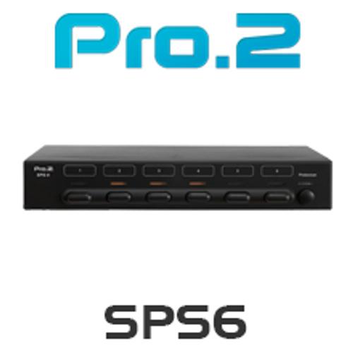 Pro.2 SPS6 6 Way Speaker Selector