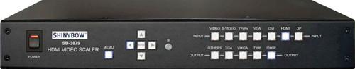 Shinybow SB-3879 7 Input to 1 Output Multiformat AV Scaler
