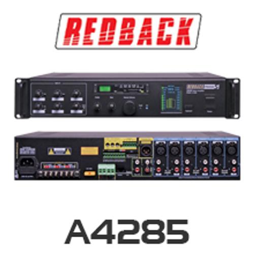 Redback A4285 PA Mixer Amplifier 250W 6 Input