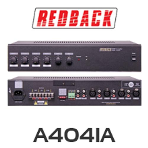 Redback A4041A 60W 4 Input 100V PA Amplifier