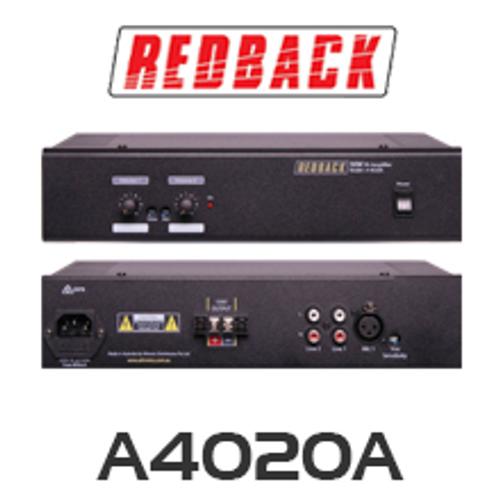 Redback A4020A 30W 2 Input 100V PA Amplifier