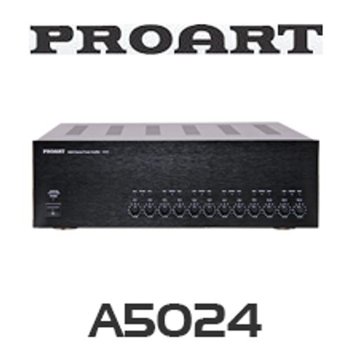 Proart A5024 Audio Distribution System Multi-Zone Amplifier