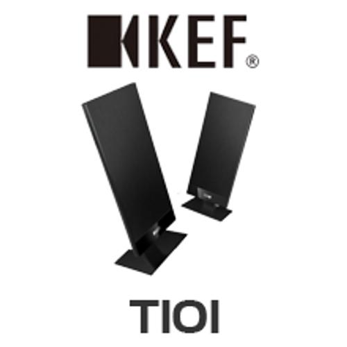 KEF T101 Ultra Low Profile Satellite Speakers (Pair)