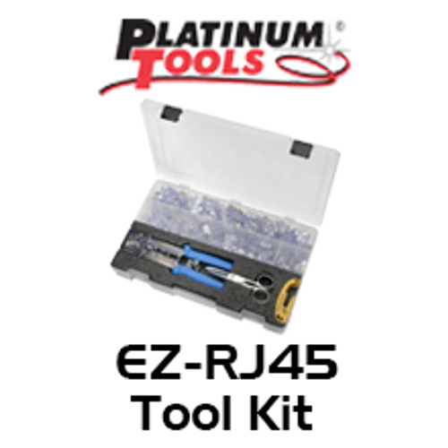 EZ HD Heavy Duty RJ45 Crimp Tool Kit