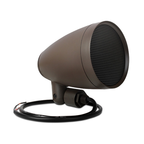 """Episode Landscape Speaker Kit with Four 4"""" Satellite Speakers and 1kW Crown Amplifier"""