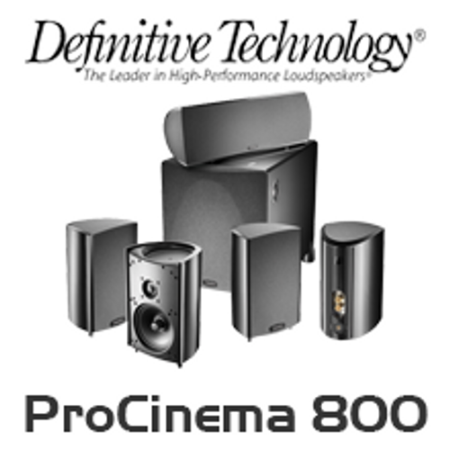 Definitive Technology ProCinema 800 5.1 Channel Home Theatre System