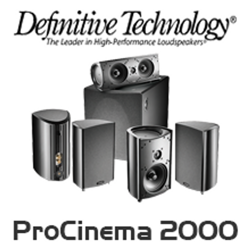 Definitive Technology ProCinema 2000 5.1 Channel Home Theatre System