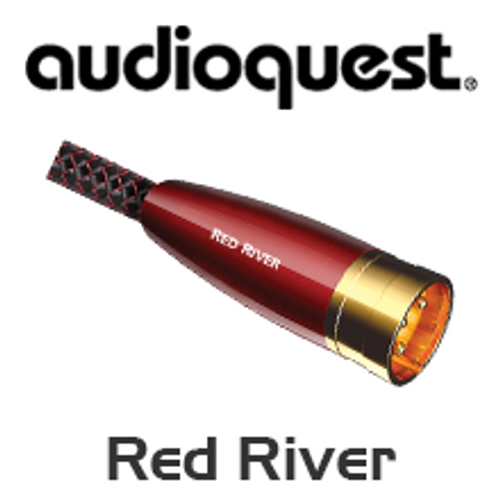 AudioQuest Red River XLR Analogue-Audio Interconnects Cable
