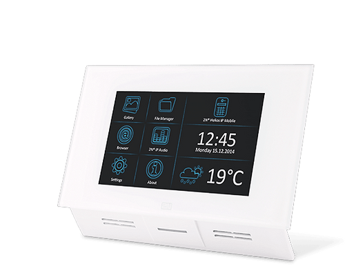"""2N Indoor Touch 7"""" IP Intercom Touch Panel Multifunctional Communicator"""