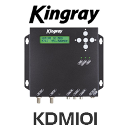 Kingray KDM101 AV to Digital (DVB-T) Modulator