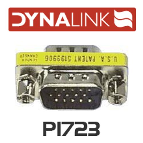 Dynalink DE15 High Density Male To Male Gender Changer