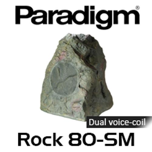"""Paradigm ROCK 80-SM 7.5"""" Weather Proof Outdoor Rock Speaker (Each)"""