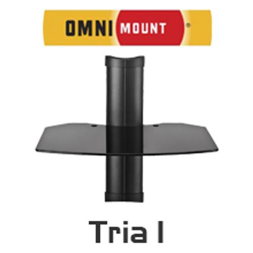 OmniMount Tria 1 AV Wall Mount Shelf
