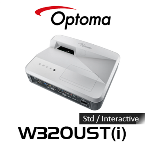 Optoma W320UST DLP WXGA Ultra Short Throw Projector