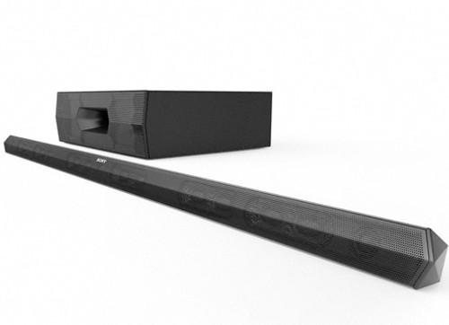 Sony HT-ST3 4.1-CH Worlds Slimmest Sound Bar with NFC & Bluetooth & Wireless Subwoofer