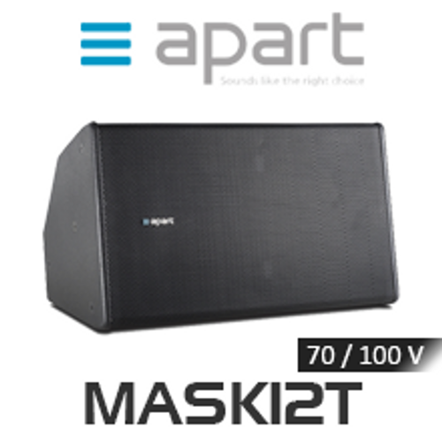 "Apart MASK12T 12"" 100V Two-Way Full Range Loudspeaker (Each)"