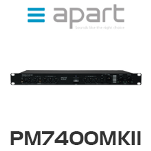 Apart PM7400MKII Multifunctional Stereo Pre-Amplifier