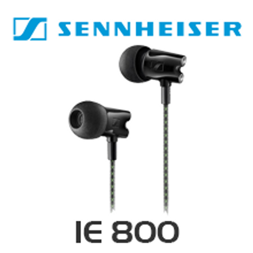 Sennheiser IE 800 Audiophile Deep Bass Ceramic Housing In-Ear Headphones