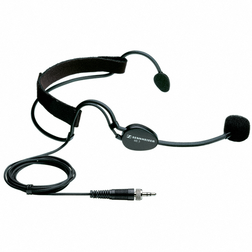 Sennheiser ME 3-EW Lightweight Cardioid Headset Microphone