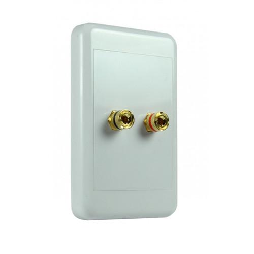 Origin NSP2024 2-Way 4mm Pins Speaker Wallplate