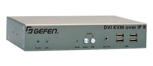 Gefen DVI KVM over IP with Local DVI Output - Receiver