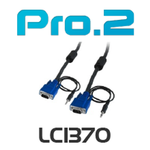 Pro.2 Filtered VGA+3.5mm Stereo Lead