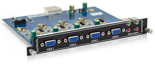 AVGear MC-4O-VA 4 VGA and Audio Output Card