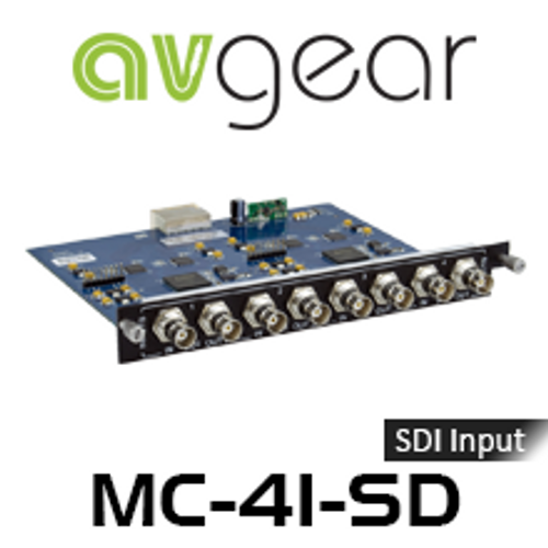 AVGear MC-4I-SD 4 SDI Input Card