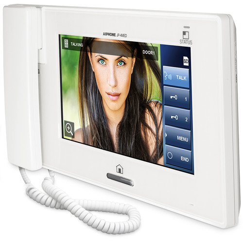 """Aiphone JP-4MED 7"""" LCD Touch Screen PTZ Video Intercom - Master Station"""