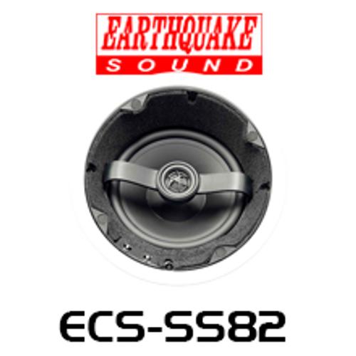 """EarthQuake ECS-SS82 8"""" Edgeless Angled SweetSpot In-Ceiling Speaker (Each)"""