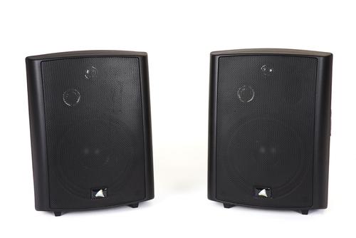 "Australian Monitor AMPAV30 5.25‰"" Active 3-Way Stereo Speakers with Brackets (Pair)"