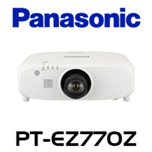 Panasonic PT-EZ770ZE WUXGA 6500 Lumens Installation LCD Projector w/o Lens