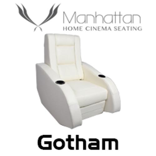 Manhattan Gotham Leather / Suede Finish Cinema Seating