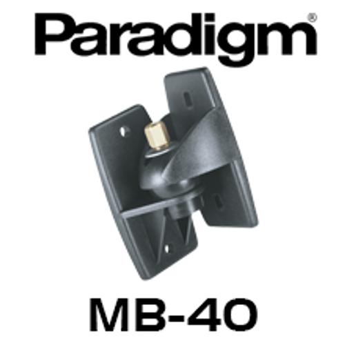 Paradigm MB-40 Wall Mount Brackets (Pair) - Suits All Cinema Models, Atom, Mini Monitor, Stylus 170/270