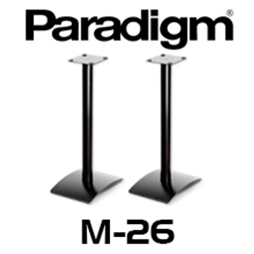 Paradigm M-26 Speaker Stands (Pair) - Suits Monitor Atom / Mini / Surround 1 and 3, Studio 10 / 20/ ADP590