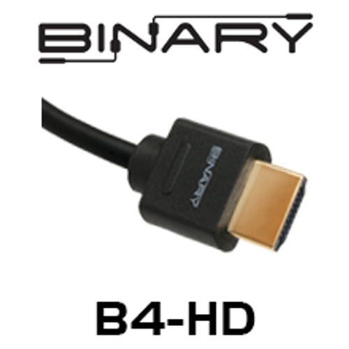 Binary B4-Series High Speed HDMI Cable with Ethernet