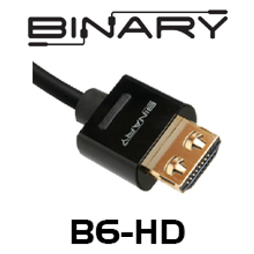 Binary B6-Series GripTek High Speed HDMI Cable with Ethernet