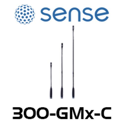 Sense Cardioid XLR Condenser Gooseneck Microphone - 6, 12, 18 inch