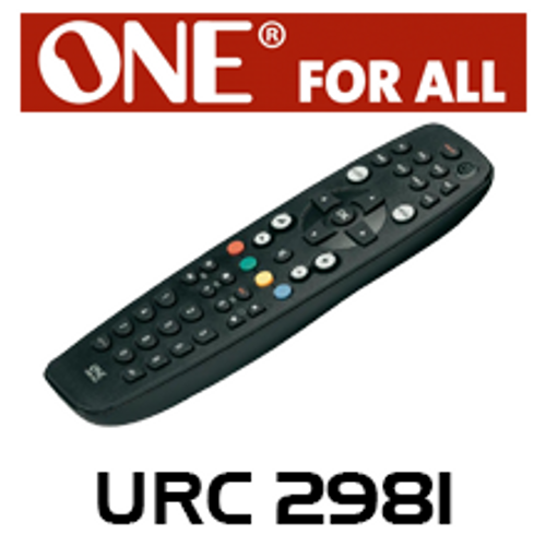 One For All URC2981 8 Devices Universal Remote Control