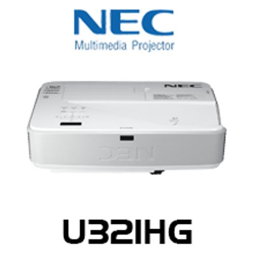 NEC U321HG 1080p 3200 Lumens DLP Ultra Short Throw Projector