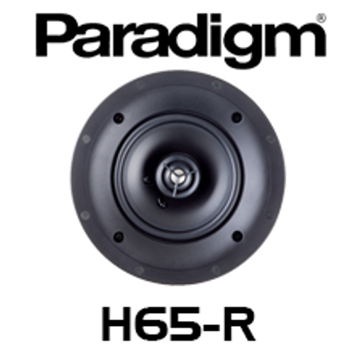 "Paradigm CI Home H65-R  6.5"" 2-Way In-Ceiling Speaker (Each)"
