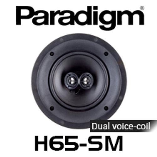 """Paradigm CI Home H65-SM 6.5"""" Dual Directional In-Ceiling Speaker (Each)"""