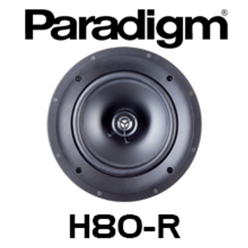 "Paradigm CI Home H80-R 8"" 2-Way In-Ceiling Speaker (Each)"