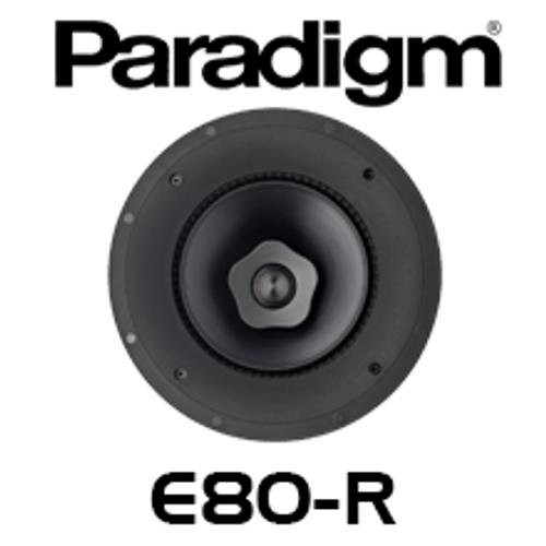 """Paradigm CI Elite E80-R 8"""" 2-Way In-Ceiling Speaker (Each)"""