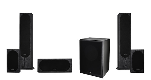 Pioneer FS52PACK Andrew Jones Designed 5.1 Channel Speaker Package