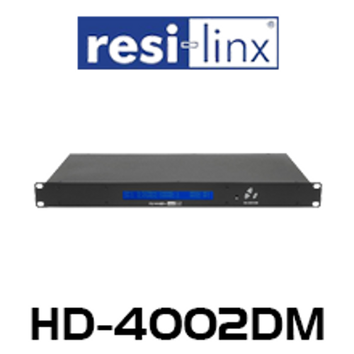 Resi-Linx HD-4002DM Professional Quad Input HD DVB-T Digital Modulator
