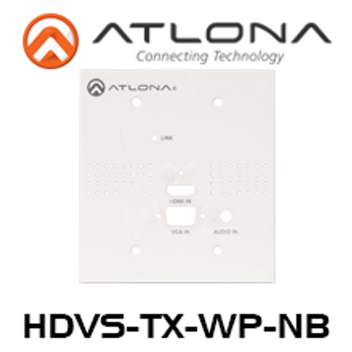 Atlona Blank Face Plate for HDVS Wall Plate Switchers